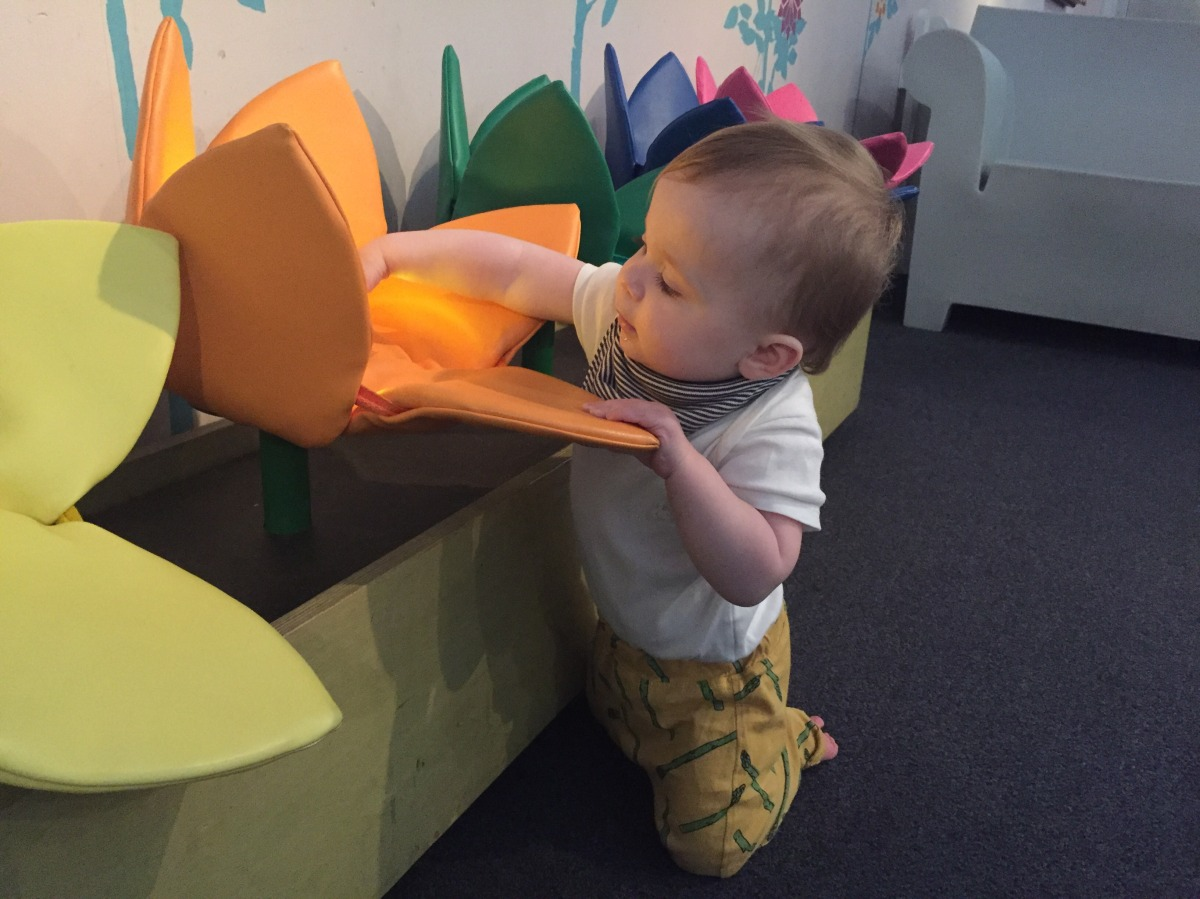 Immerse yourself in the sensory pod at the V&A Museum of Childhood