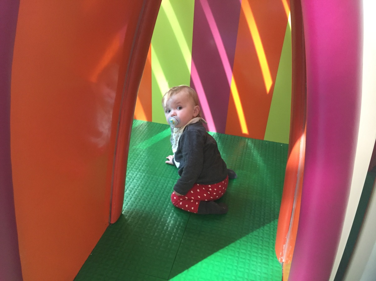 Take a break from shopping at Westfield's questionably named Playworld