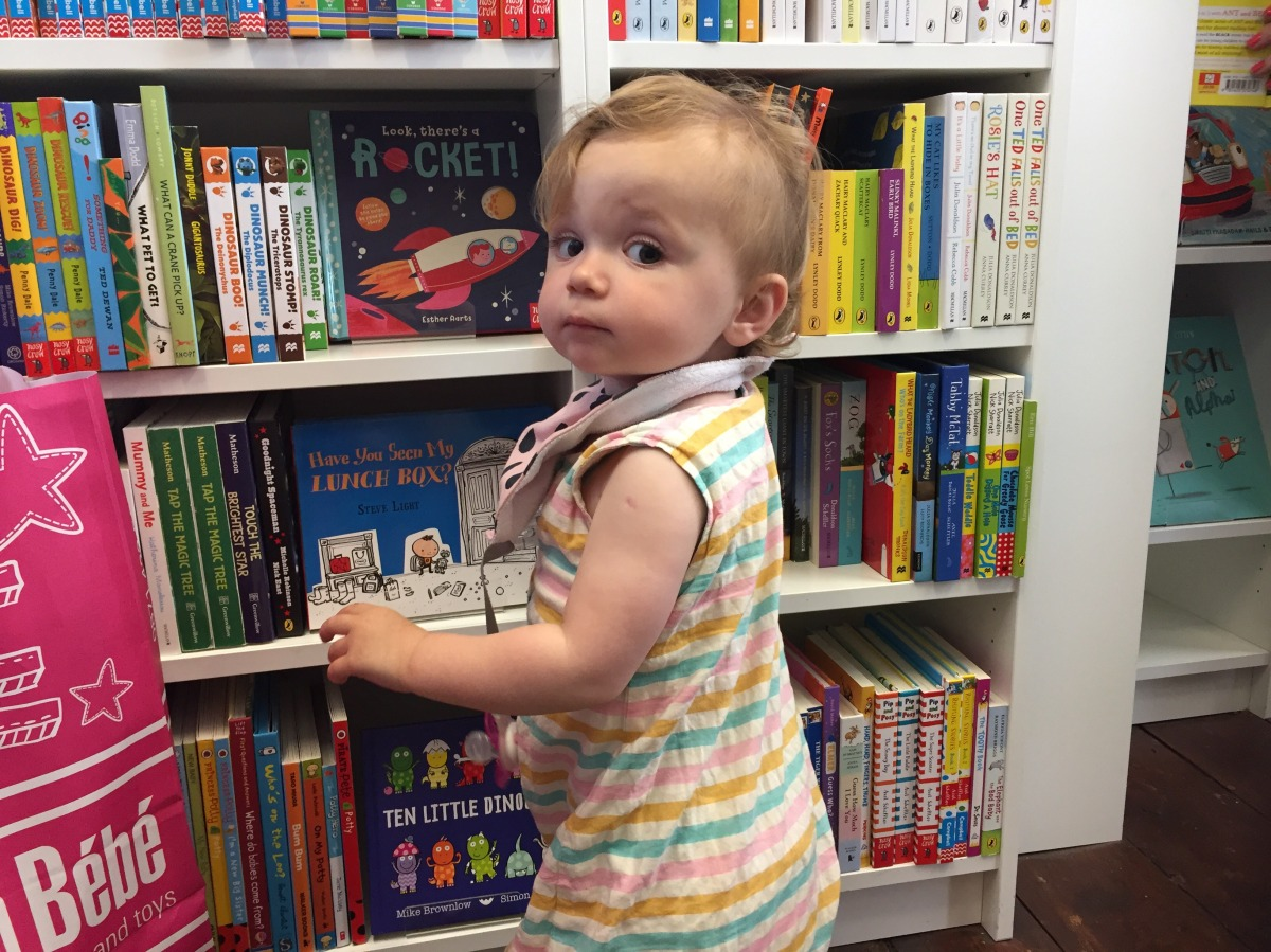 Browse bestsellers or pop in for story-time at The Alligator's Mouth bookshop