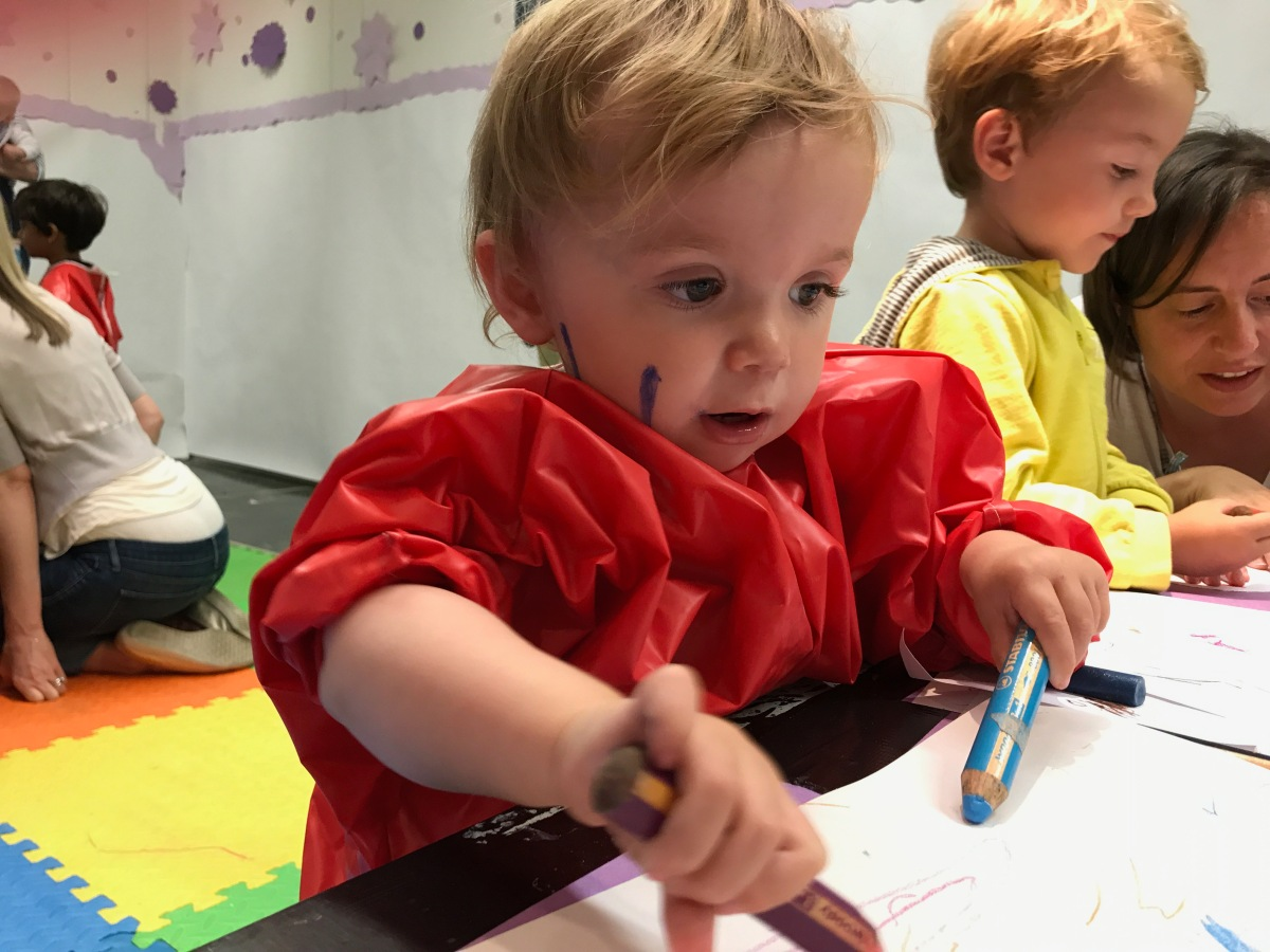Seven gallery-hosted art sessions for under-fives
