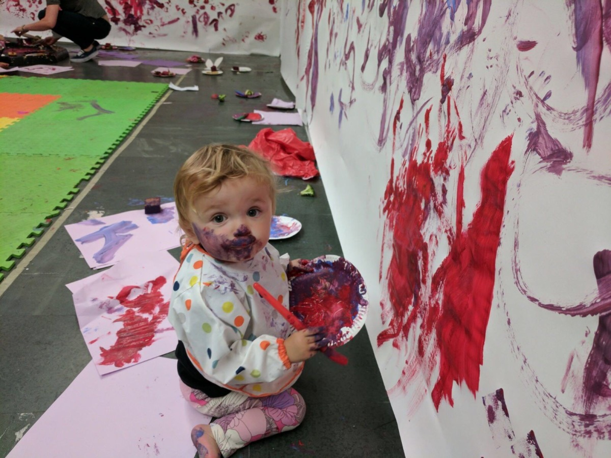 Create art inspired by priceless works at Messy Mondays at The National Gallery