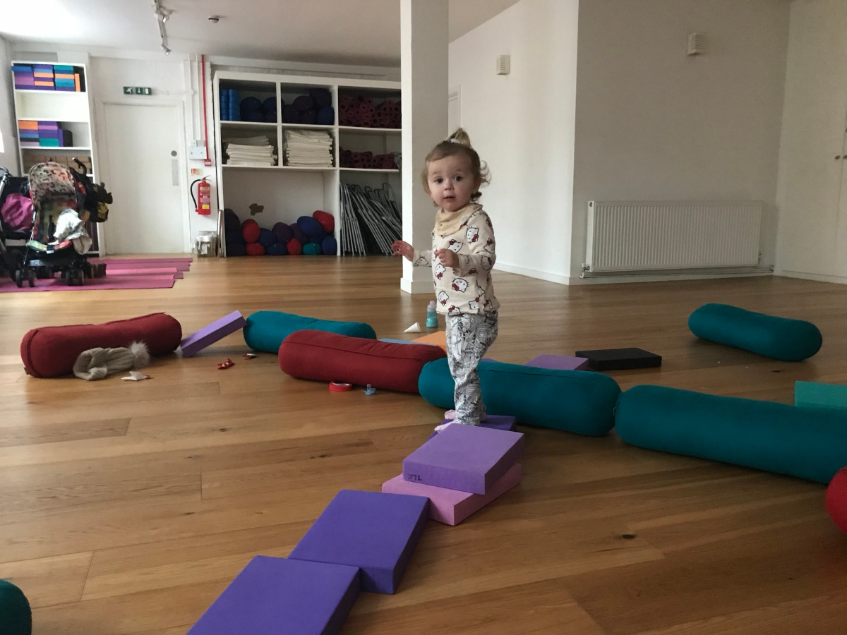 Perfect your Child's Pose at Mums and Toddlers Yoga at The Life Centre