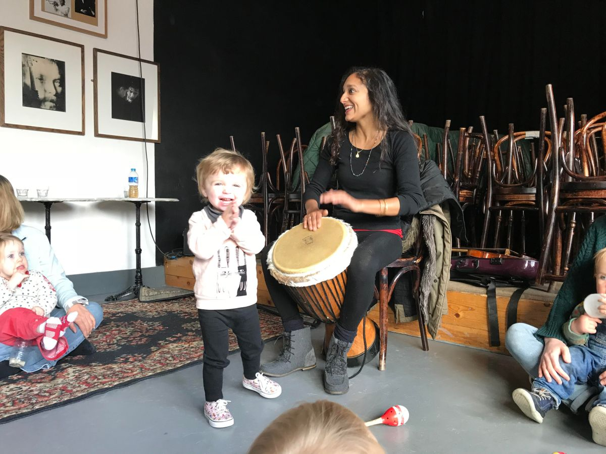 Enjoy a music class with a difference at SoundsCreative Projects' Tots Tunes
