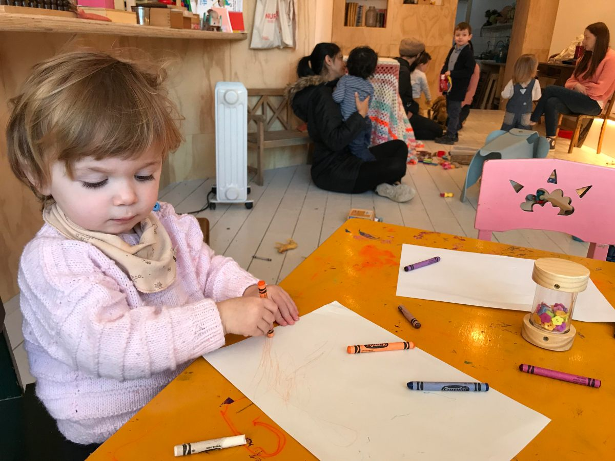 Have a chilled Sunday morning at Tomato Tutors' The Greenhouse Playgroup
