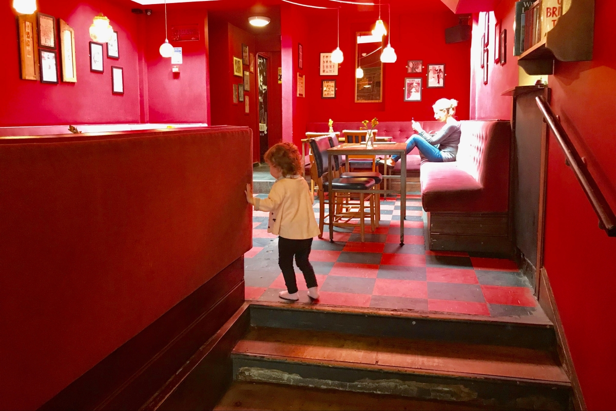 Drop the kids in the soft play while you grab brunch and a pint at Jam Circus