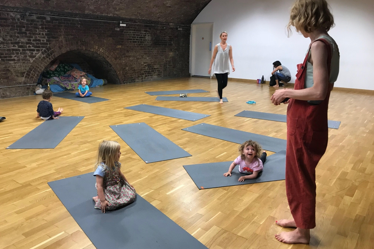 Relax and zone out with Toddlers & Carers Music & Yoga at TripSpace