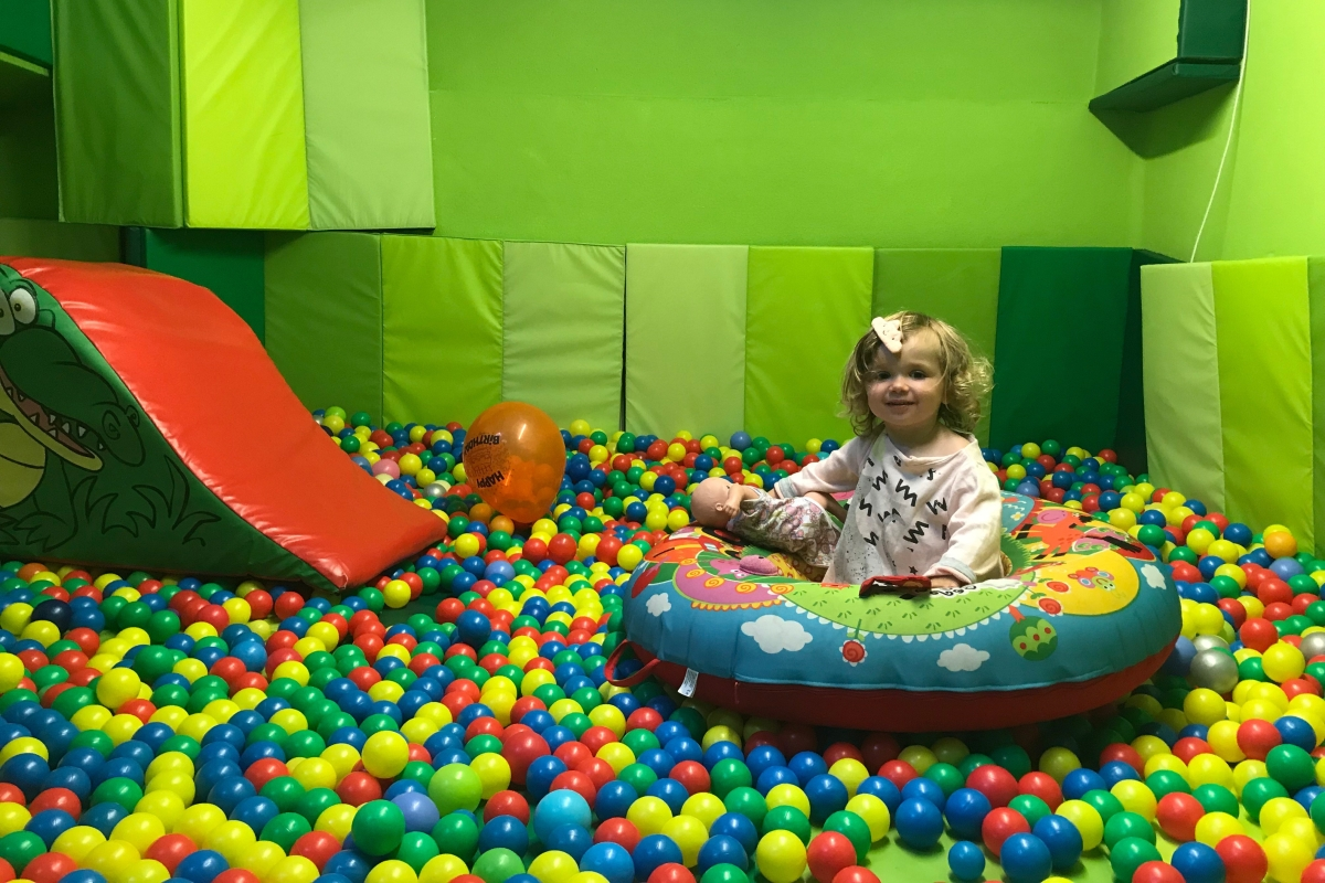 Lose track of time in the brilliant ball-pit basement at ABC Studio