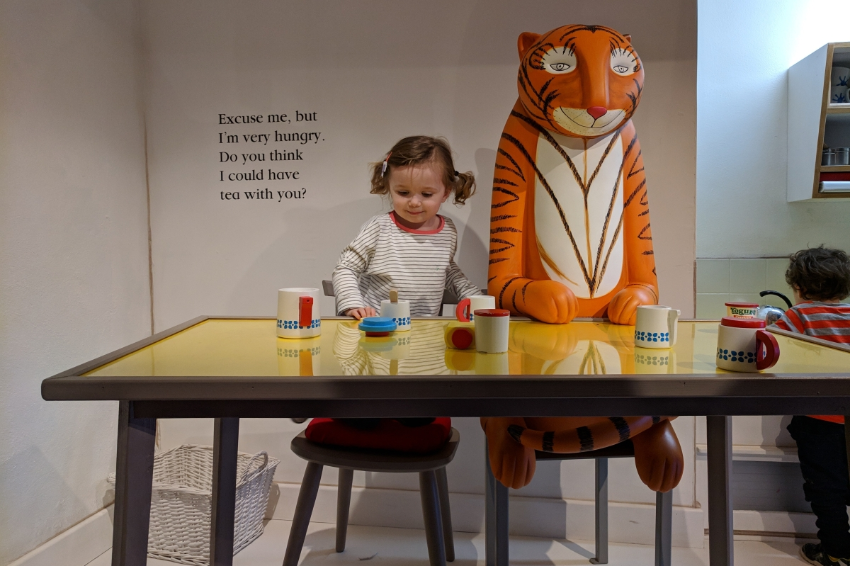 Meet The Tiger Who Came to Tea and Mog the Forgetful Cat at Discover